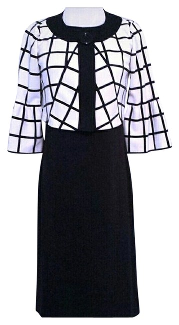 Preload https://item5.tradesy.com/images/morgan-mcfeeters-dress-black-and-white-1087429-0-0.jpg?width=400&height=650