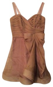 A.B.S. by Allen Schwartz short dress Tan on Tradesy