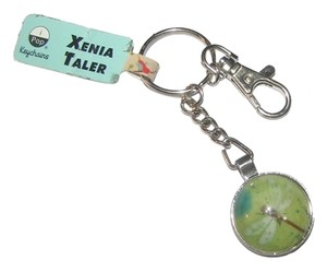 Other Cabochon Dragonfly Silver Key Chain Key Ring Free Shipping