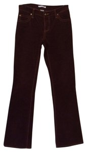 CAbi Stretchy Corduroy Size 0 Boot Cut Pants Purple