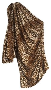 Tart Collections Leopard One Fitted Small Top Leopard Print
