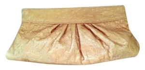 Lauren Merkin Gold Bronze Clutch