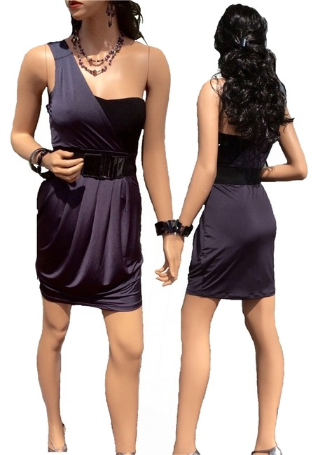 Preload https://item5.tradesy.com/images/forever-21-black-and-gray-night-out-dress-size-4-s-1087499-0-0.jpg?width=400&height=650