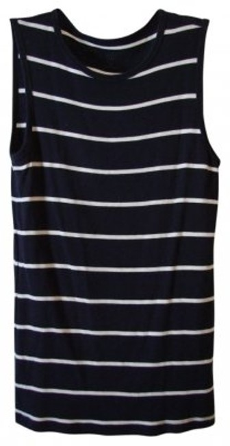 Preload https://item1.tradesy.com/images/gap-navywhite-wwhite-stripes-wrounded-neckline-tunic-size-8-m-10875-0-0.jpg?width=400&height=650