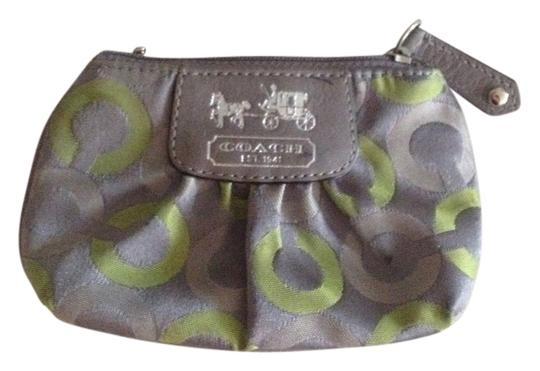 Preload https://item5.tradesy.com/images/coach-grey-and-lime-mini-wallet-1087524-0-0.jpg?width=440&height=440