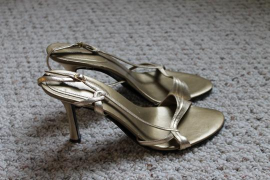 Nine West Strappy Heels Heels gold Pumps