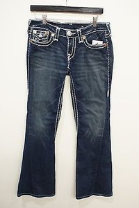 True Religion Joey Super T Style Flare Leg Jeans