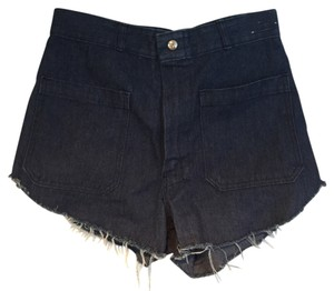 Urban Renewal High-waisted Cut Off Shorts denim