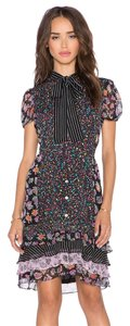 Diane von Furstenberg short dress multicolor Dvf on Tradesy