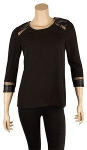 C. Luce Stretchy Top Black