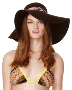 Missoni for Target Brown Missoni for Target Wool Boho Chic Floppy Hat