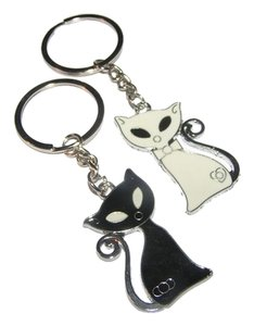 Other 2pc Best Friends Cat Key Chains Key Rings Free Shipping