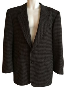 Gianfranco Ruffini camel and black Blazer