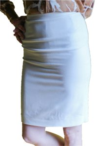 Donna Karan Vintage Pencil Skirt Ivory