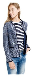 J.Crew Winter Sweater Tweed Plaid Cardigan