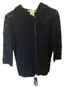 Urban Outfitters Hoodie Lace Navy Jacket