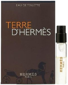 Hermès NEW Terre d'Hermes EdT Mini Spray for Men Travel Size / Sample