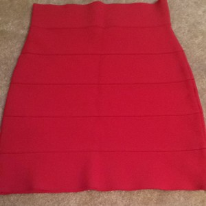 BCBG Max Azria Skirt Red