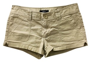 Express Short Mini/Short Shorts Khaki