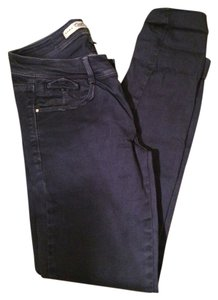 Zara Relaxed Fit Jeans-Coated