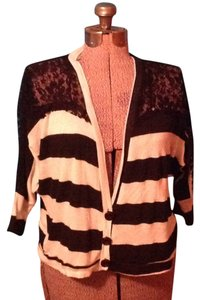Living Doll Lace Stripes Cardigan