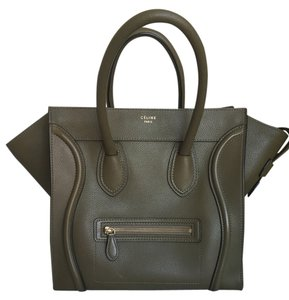Cline Luggage Mini Jungle Olive Tote in Olive green