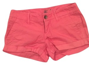 American Eagle Outfitters Mini/Short Shorts Orange