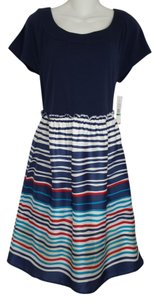 Tommy Hilfiger short dress Blue with Stripe on Tradesy