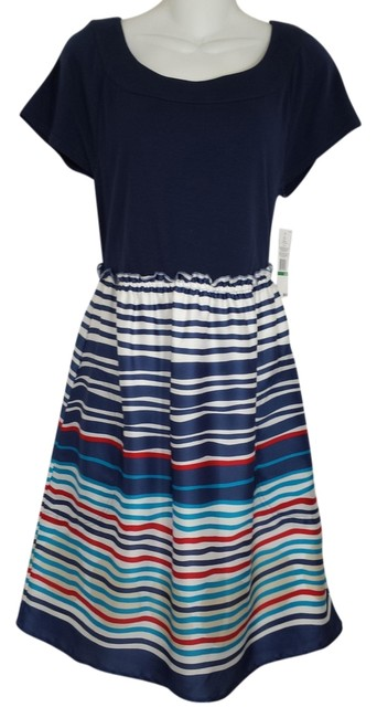 Preload https://item4.tradesy.com/images/tommy-hilfiger-blue-with-stripe-nautica-womens-a71716602-078-february-knee-length-short-casual-dress-1088008-0-0.jpg?width=400&height=650
