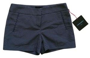 Cynthia Rowley Shorts Navy Polka Dot