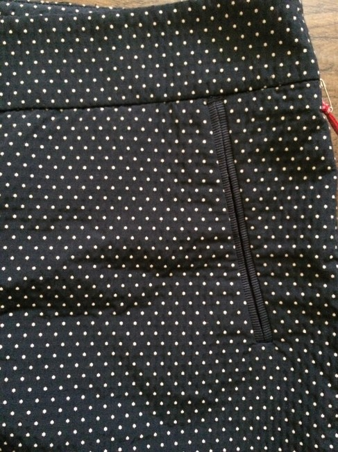 Cynthia Rowley Polished Preppy Hipster Shorts Navy Polka Dot