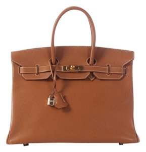 Hermès Birkin Leather Gold Hr.j1214.01 Satchel