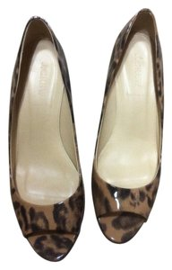 J.Crew black & brown Pumps