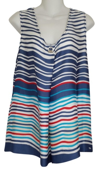 Preload https://item5.tradesy.com/images/tommy-hilfiger-nautica-stripe-th-womens-a73318763-100-above-knee-short-casual-dress-size-16-xl-plus--1088139-0-0.jpg?width=400&height=650
