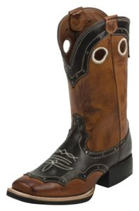 Nocona Brown/black Boots