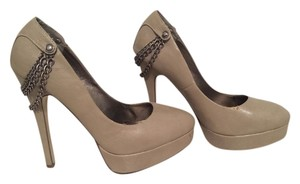 Speed Limit 98 Taupe Pumps