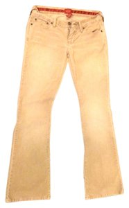 Abercrombie & Fitch Corduroy Boot Cut Pants Stone