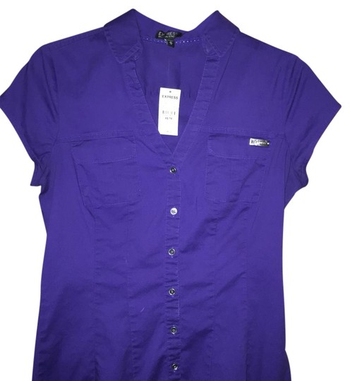 Express Purple Top - 82% Off Retail outlet