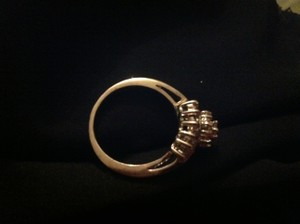 Other White 14K gold Rose ring sz 8