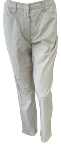 Prada Straight Pants beige