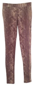 Express Snakeskin Print Leggings