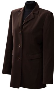 Caslon Thigh Length chocolate brown Jacket