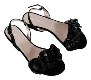Taryn Rose Black Patent Sandals