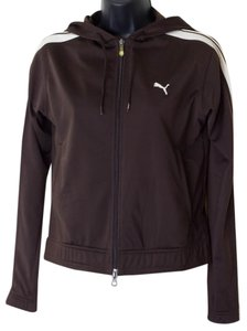 Puma Size Xs Zip-up Hooded Track
