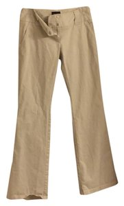 The Limited Work Appropriate Trousers Boot Cut Pants Beige