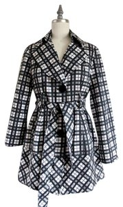 Ambition Light Weight Pattern Trench Coat