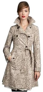 Banana Republic Limited Edition Animal Print Trench Coat