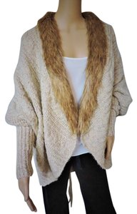 XOXO Faux Fur Cream Beige Jacket