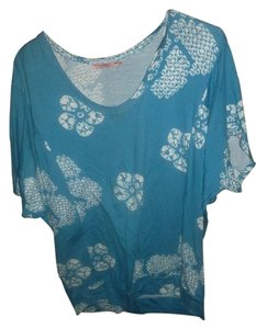 Juicy Couture Flower Top blue