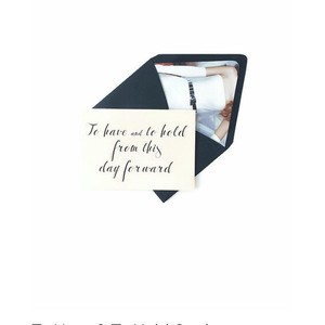 Mr. & Mrs. Wedding Card